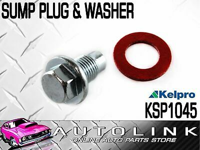 SUMP PLUG & WASHER 14mm - 1.5 SUIT MAZDA 929 HB 2.0L FE 1984 - 1986