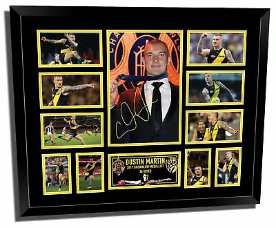 Dustin Martin Richmond Tigers Brownlow Medallist Framed Memorabilia