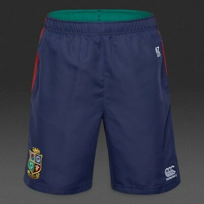 Canterbury British  Irish Lions 2017 Kids Youth Vapodri Woven Gym Short, 6Y only