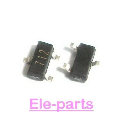 10 Pcs Psm712 Sot-23 712 Standard Capacitance Tvs Array