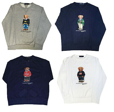 Polo Ralph Lauren Stadium Collection Bear Sweatshirt Crewneck LIMITED EDITION