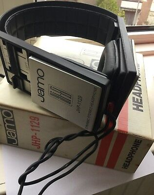 Jamo JHP-1129 Headphones Orthodynamic Jacob Jensen B&O U70 Design ULTRA RARE box
