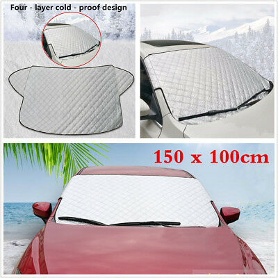 Car SUV Windscreen Cover Protector- Snow Ice Frost Sun Heat Front Windshield