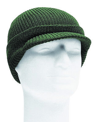 US Army Watch Cap Olive OD Base Cap Knitted Cap WWII WK2 Beanie Hat Boonie