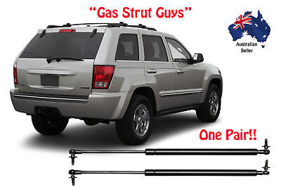 Gas Struts suit Jeep Grand Cherokee WH WK models 2005 to 2010 TAILGATE New Pair