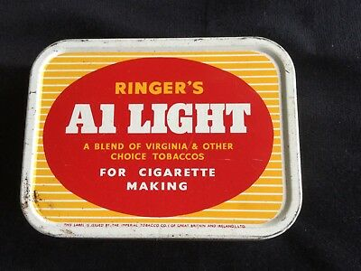 Ringer's A1 Light  Tobacco Tin