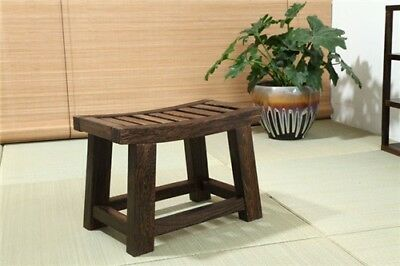Incredible Japanese Antique Wooden Stool Bench Paulownia Wood Asian Ocoug Best Dining Table And Chair Ideas Images Ocougorg