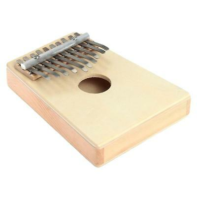 1Pc Kalimba 10 Key African Thumb Piano Finger Percussion Musical Instrument