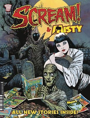 2000Ad Presents Scream & Misty Halloween Special 2017, New & Unread
