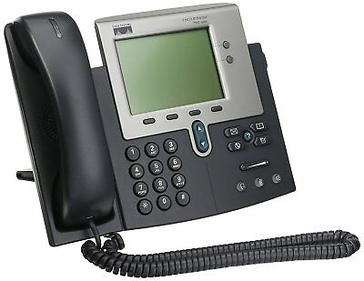 Cisco 7940 Series CP-7940G VoIP PoE Business Phone with Handset