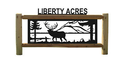Elk Outdoor Sign