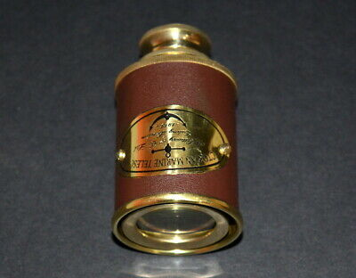 Antiques 1915 Marine Maritime Victorian Brass Vintage Solid Style Telescope Antique Gift Maritime