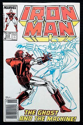 Iron Man #219 1st Appearance of Ghost Ant-Man & The Wasp Movie Newsstand