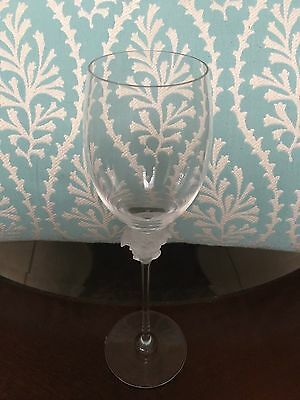37b001b823d Rosenthal Crystal Versace Collection  Medusa White Wine Glass-UNSIGNED