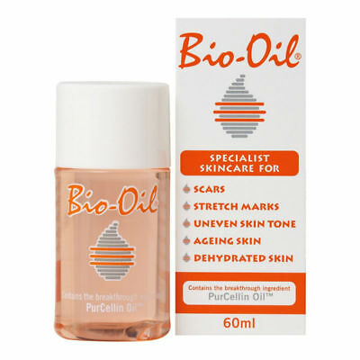 Bio Oil Purcellin 60ml Acne Scars Stretch Marks Uneven Skin Tone Free Ship