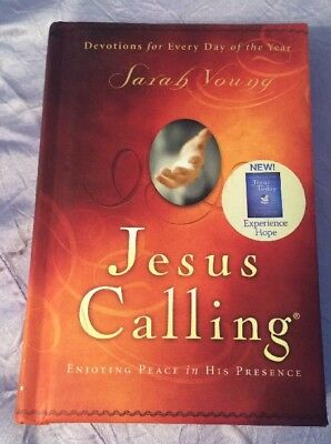 Jesus Calling: ENJOYING PEACE IN HIS PRESENCE by Sarah Young (Hardcover)