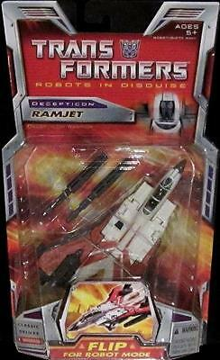 Transformers Universe Classics Deluxe Decepticon Ramjet - Unopened On Card - Wow