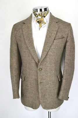 "Dunn & Co Vintage Tweed Jacket 44"" Regular Blazer 2 Button"