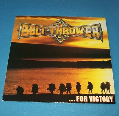 Bolt Thrower: …For Victory (1994)	 Boltthrower