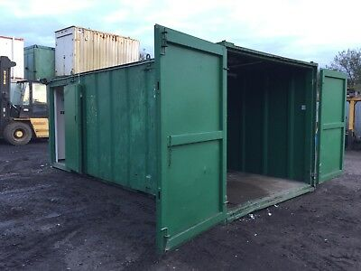Site Cabin Portable Storage Container Anti Vandal Steel More Available
