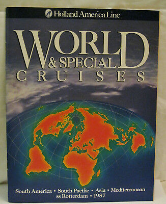World & Special Cruises South America South Pacific Asia Mediterranean 1987