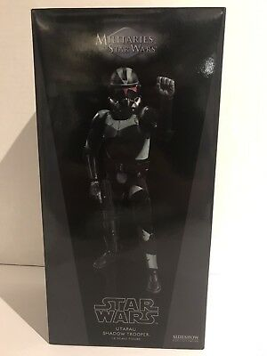 Sideshow Collectibles Star Wars Utapau Black Shadow Trooper 1/6 Scale Figure