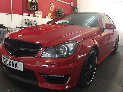 MERCEDES C63 AMG - Rare - PPP - Ceramic - Warranty 2019 - 3 years MB  Services