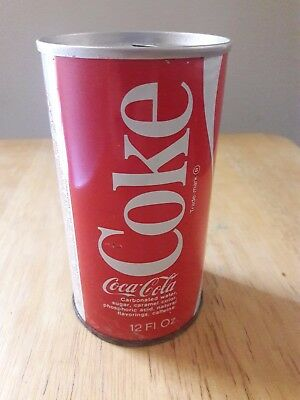 Vintage Coca-Cola Can 12oz with adverts