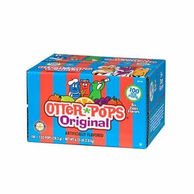 Otter Pops Ice Pops Variety Pack of Freezer Bars 1oz (28.3g) 100s