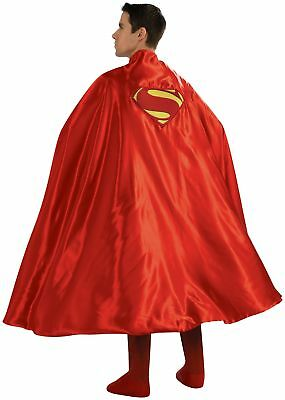"""Adult Super Hero Cape Superman Red Long 50"""" Youtube Costumes Pretend Play Funny"""
