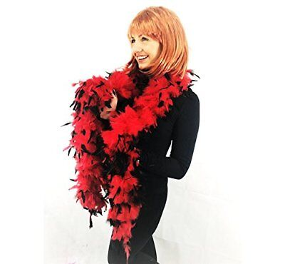 Deluxe Feather Boa Thick High Quality 17 Different Color's Dance Burlesque Fancy