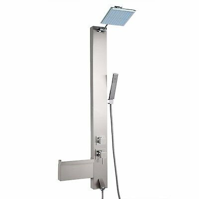 """47"""" Shower Panel Tower Spa Multi Function Over Head Rainfall Y-82814 SP0045"""