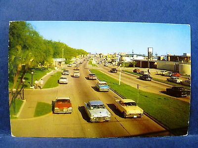 Gulf Coast Highway US 90 Along the Beach Mississippi Vintage