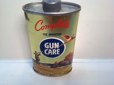 Vintage Complete Can Gun Handy Oiler Lead Top NOS FULL rare oil household old 3
