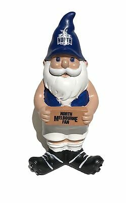 North Melbourne Kangaroos AFL Garden Christmas Gnome 2017 Edition