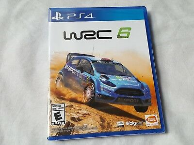 WRC 6 World Rally Championship PS4 Sony Playstation - Brand New / Sealed