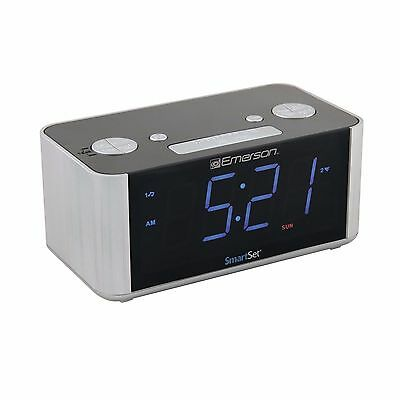 Home Alarm Clock For Heavy Sleepers Smartset Radio Led Annoying Hd Digital