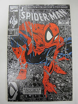 Spider Man 1 Silver Torment Aug 1990 McFarlane Marvel Comics