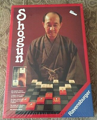 VINTAGE SHOGUN GAME BY RAVENSBURGER,1979...Sealed Box!!!