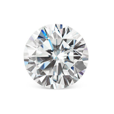 12mm 6.13 Ct Forever One DEF Moissanite Loose Stone Round Excellent Cut