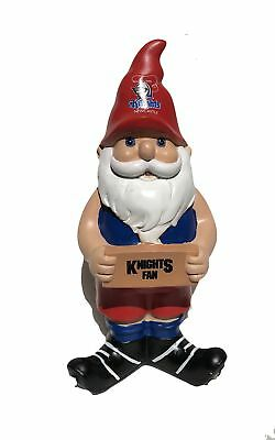 Newcastle Knights NRL Garden Knights Fan Gnome 2017 Edition