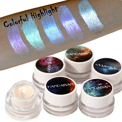 Maquillaje Brillo Rainbow Color Eye Shadow Paste  destacar paleta cosmeticos ILH