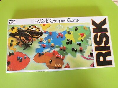 Risk Board Game - Parker - The World Conquest Game
