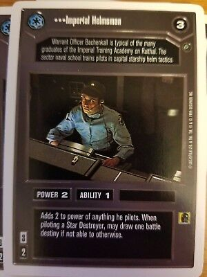 Star Destroyer Launch Bay Star Wars Dagobah Limited 1997 DS Common CCG Card
