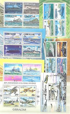 Gibraltar -7 Blocks postfrisch  1993-1998 Navy and Airforce - K.W.42,00 €