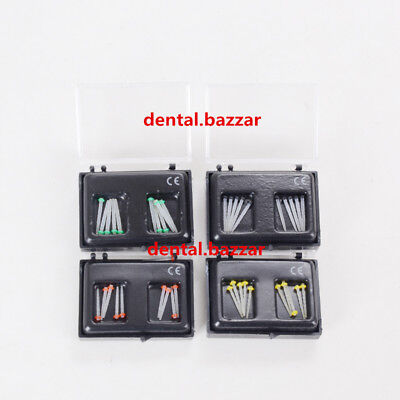 1 Box Dental Fiber Post Glass Screw Pile 1.2mm 1.4mm 1.6mm 1.8mm 10pcs/Box