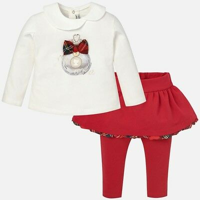Mayoral girls top and leggings set 2781 6 months
