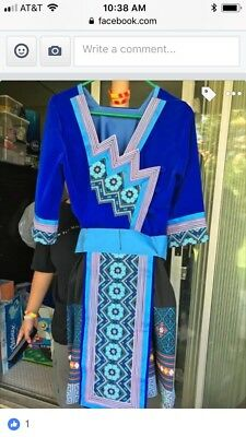 Hmong dress clothes full outfit