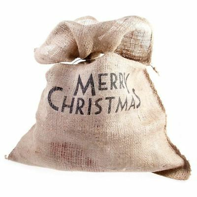 East Of India Xmas Sack Merry Christmas Gift Stocking Bag