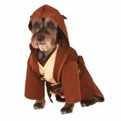 Disney Rubies Star Wars Jedi Pet Dog Costume Size Large
